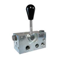 4-Way Clamping Valves (Lever Type)