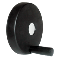Hand Wheels – Solid Disk Design (Thermoplastic) with Revolving Handle