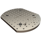 Rotary-Table Subplates (630mm with 500mm Flats)