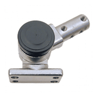 Adjustable Locking Hubs – Stainless Steel, Mounting Flange & Round End (Inline for 220° Adjustment)