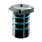 ROEMHELD Bore Clamps without Centering – Top Flange, Cartridge Type, B1.4843 (7.8 to 17.7mm Bores)