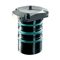 Bore Clamps without Centering – Top Flange, Cartridge Type, B1.4843 (7.8 to 17.7mm Bores)