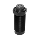 ROEMHELD Threaded-Body Cylinders with Locking Support Plunger, B1.711
