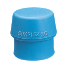 Simplex Hammers – Type A Inserts: Blue Thermoplastic (Soft)