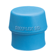 Maillets Simplex – Embouts Type A: Thermoplast Bleu (Mou)