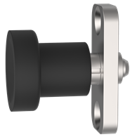 Hand-Retractable Plungers – Knob Handle with Mounting Plate (Locking Type)