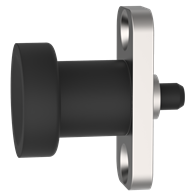 Hand-Retractable Plungers – Knob Handle with Mounting Plate (Non-Locking Type)