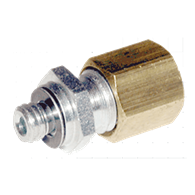 Air Fittings – Tubing Connector (#10-32 Male x 1/8-OD Tubing)