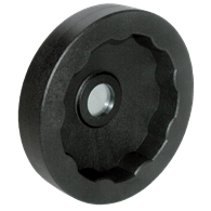 Hand Wheels – Solid Square Design (Thermoplastic) without Handle
