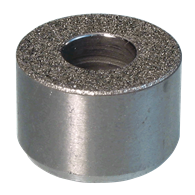 Round Grippers – Counterbored (Abrasive Diamond)