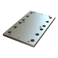 Carr Lock® Subplates for HAAS® VF-1YT (16 x 26) Version 00