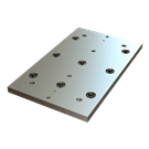 Carr Lock® Subplates for HAAS® VF-1YT (16 x 26) Version 01