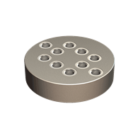 Round Fixture Plates for Quintus 1 (130mm)