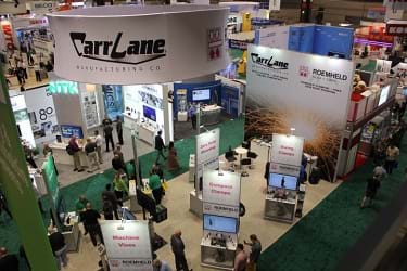 see carr lane at upcoming manufacturing trade shows