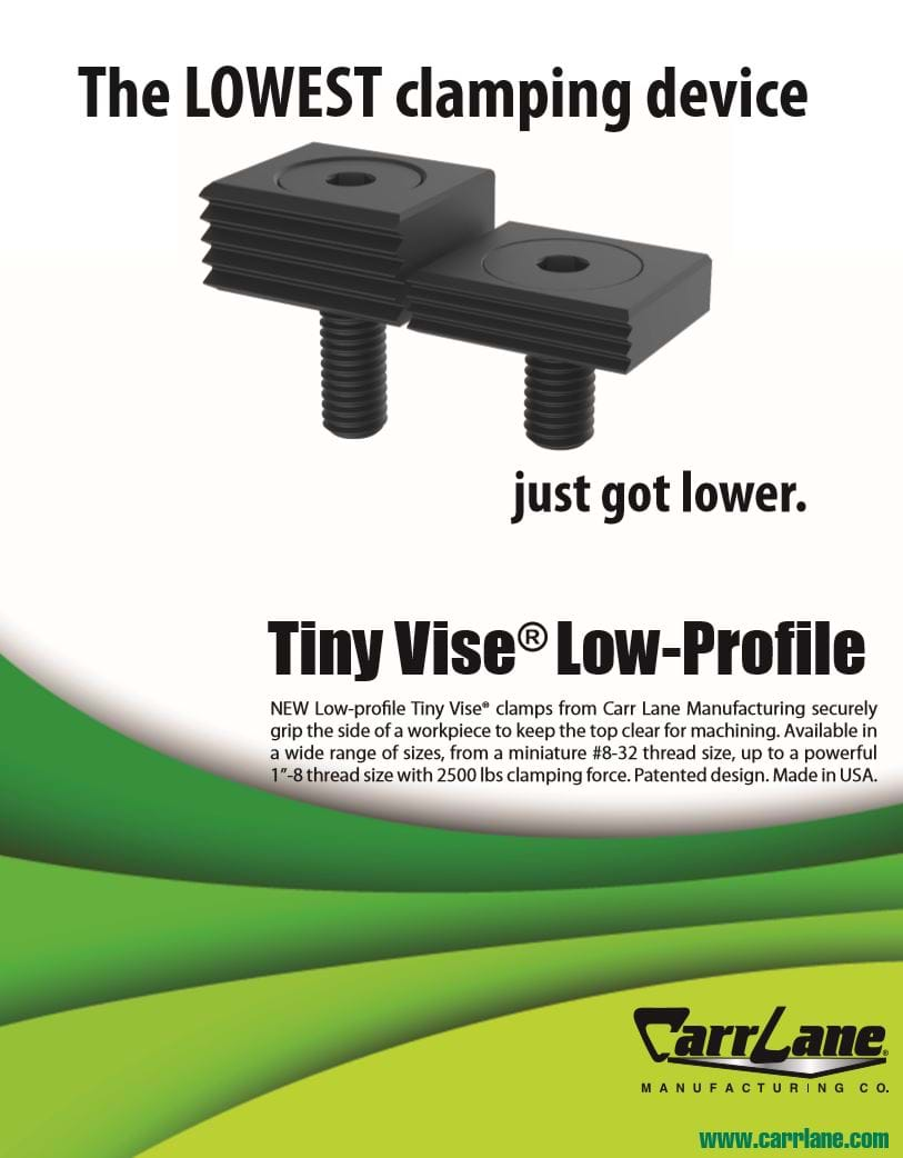 Tiny Vise Low Profile Flyer