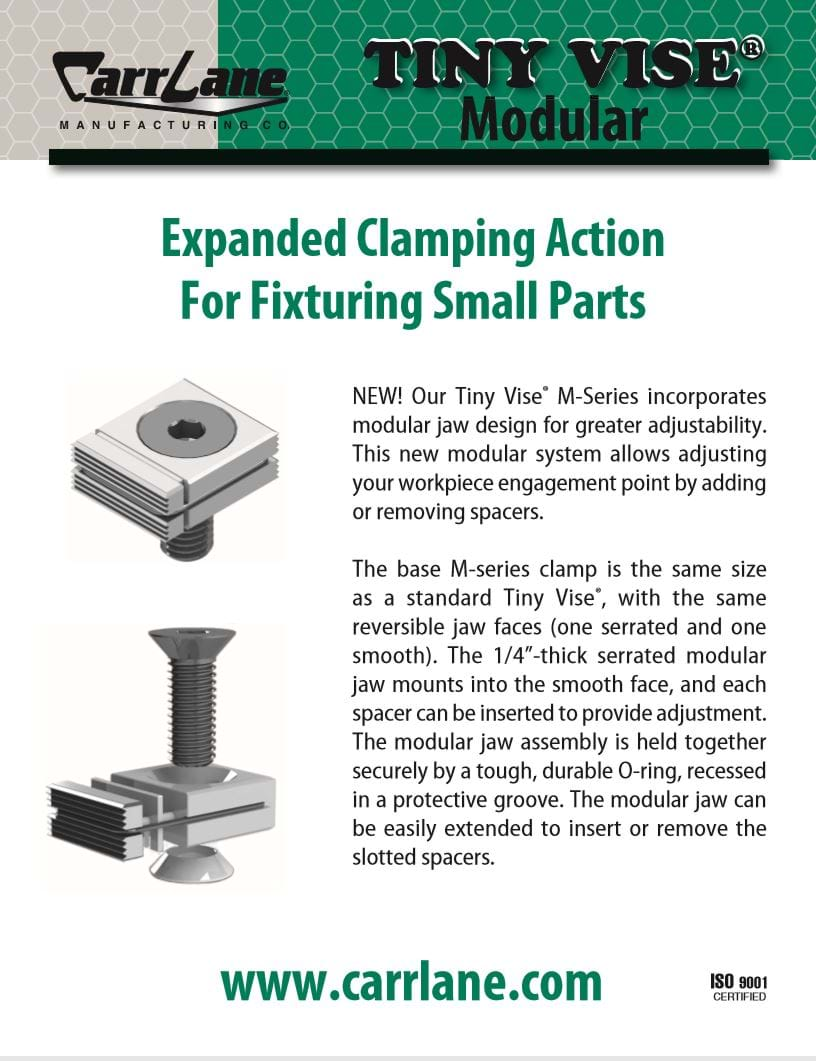 Tiny Vise M-Series Flyer